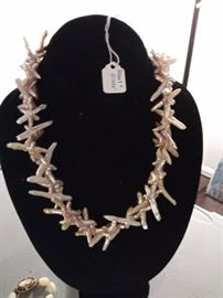 Pearl and sterling necklace