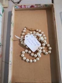 """12"""" strand cultured pearls"""