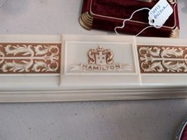 Vintage Hamilton watch box