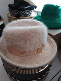 Vintage Kangol angora hat