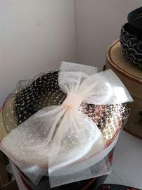 Vintage Ethel Ann Seattle bow/veil