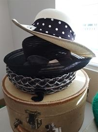 Hats and hat boxes