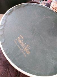 Vintage Frederick & Nelson hat box
