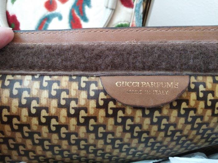 Vintage Gucci Parfum clutch