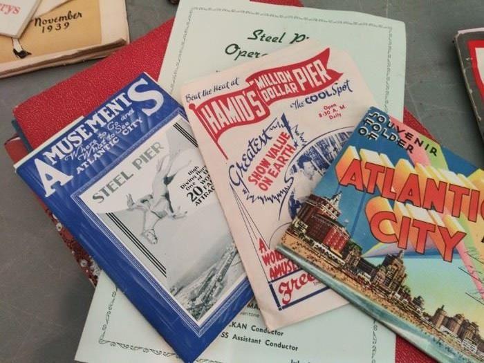 Vintage 1939 NY Worlds Fair paper ephemera