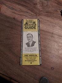 Vintage Seattle paper ephemera
