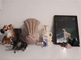 Vintage USA pottery and collectibles