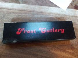 Frost Cutlery knife
