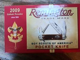 Remington 2009 Boy Scouts knife