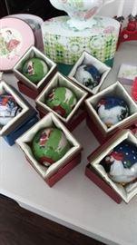 Retired Li Bien ornaments