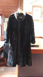 Sheared beaver? full lenth fur coat