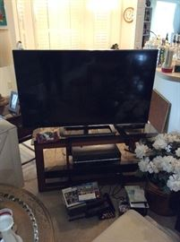 Flat Panal TV and Stand