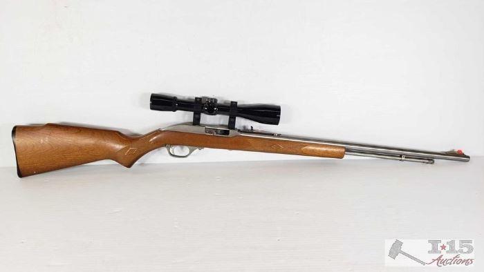 Marlin Model 60 .22LR Weaver CK4 Scope