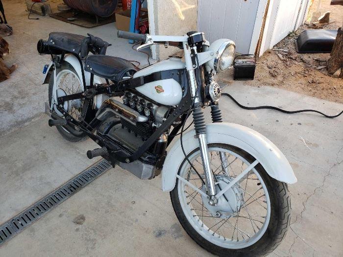1949 Nimbus Model C Motorcycle