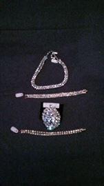 Weiss and costume rhinestone jewelry