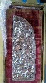 SPANISH COLONIAL DOOR PANEL - PROFESSIONALLY MOUNTED AND CONSERVED