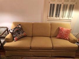 Linen Flexsteel Sofa was $400; now $200