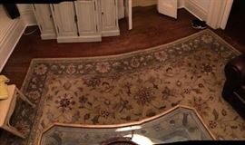 Asian rug, muted tones was $200, now $100