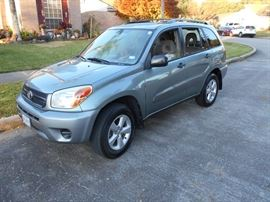 2005 Toyota Rav 4  5 speed manual. This car will keep the kids off the phone while driving,,,,,