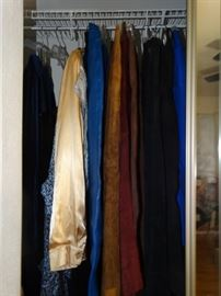 Vintage furs, aprons and night gowns