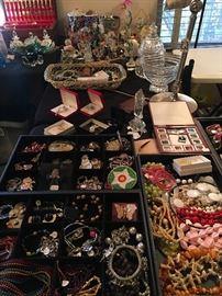 Lots of fun costume jewelry