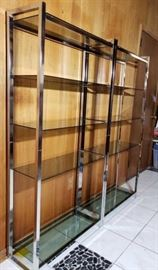 Chrome shelves