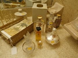 PERFUMES, AFTER SHAVES AND PERFUME BOTTLES