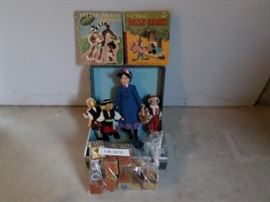 05 Vintage toys and book lot