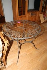 Metal Table (Needs TLC)