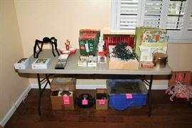 Holiday Items, Train Track, Lionel Transformer