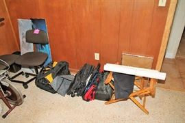 Office Chairs, Bags, Backpacks
