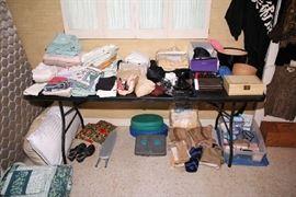 Linens, Purses, Sewing