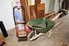 Wheelbarrow, Hand Truck, Wood
