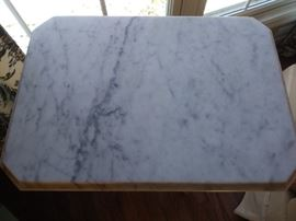 Marble table top - excellent!