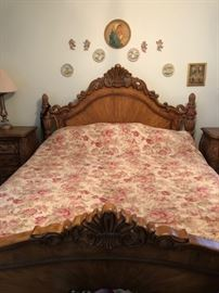 King Sized Headboard & Footboard