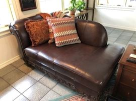 Genuine Leather Day Bed
