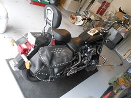 VIN:1HD1BWB146Y019117 Make:Harley-Davidson Model:Flstci Bodytype:No Data Engine:1450CC Mileage: 7,000