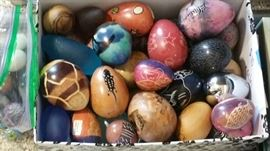 Marbled egg collection... tons hundreds