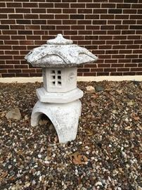 pagoda yard statue