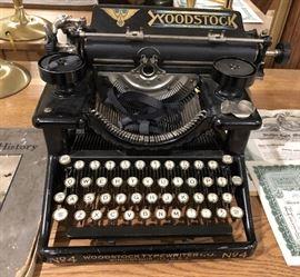 Woodstock Typewriter No4