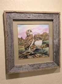 North Dakota Artist Burt Calkins