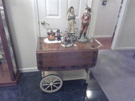 Early American tea cart