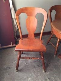Tell City chair detail