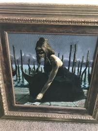 """Fabian Perez giclée """"Venice"""""""