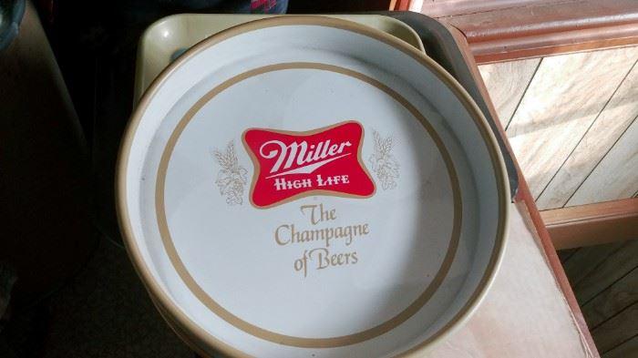 Vintage Miller High Life Tray
