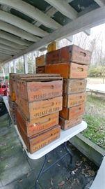 Vintage Neeses Sausage Boxes