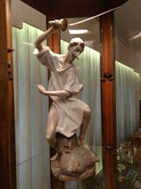 Lladro Don Quixote, huge and perfect! Limited edition piece!