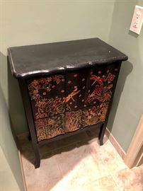 Hand painted Dragon Fly Cabinet