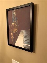 Musical Instrument themed artwork