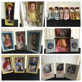 collage dolls